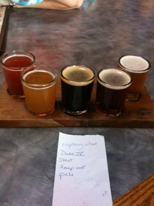 Block 15 beer flight