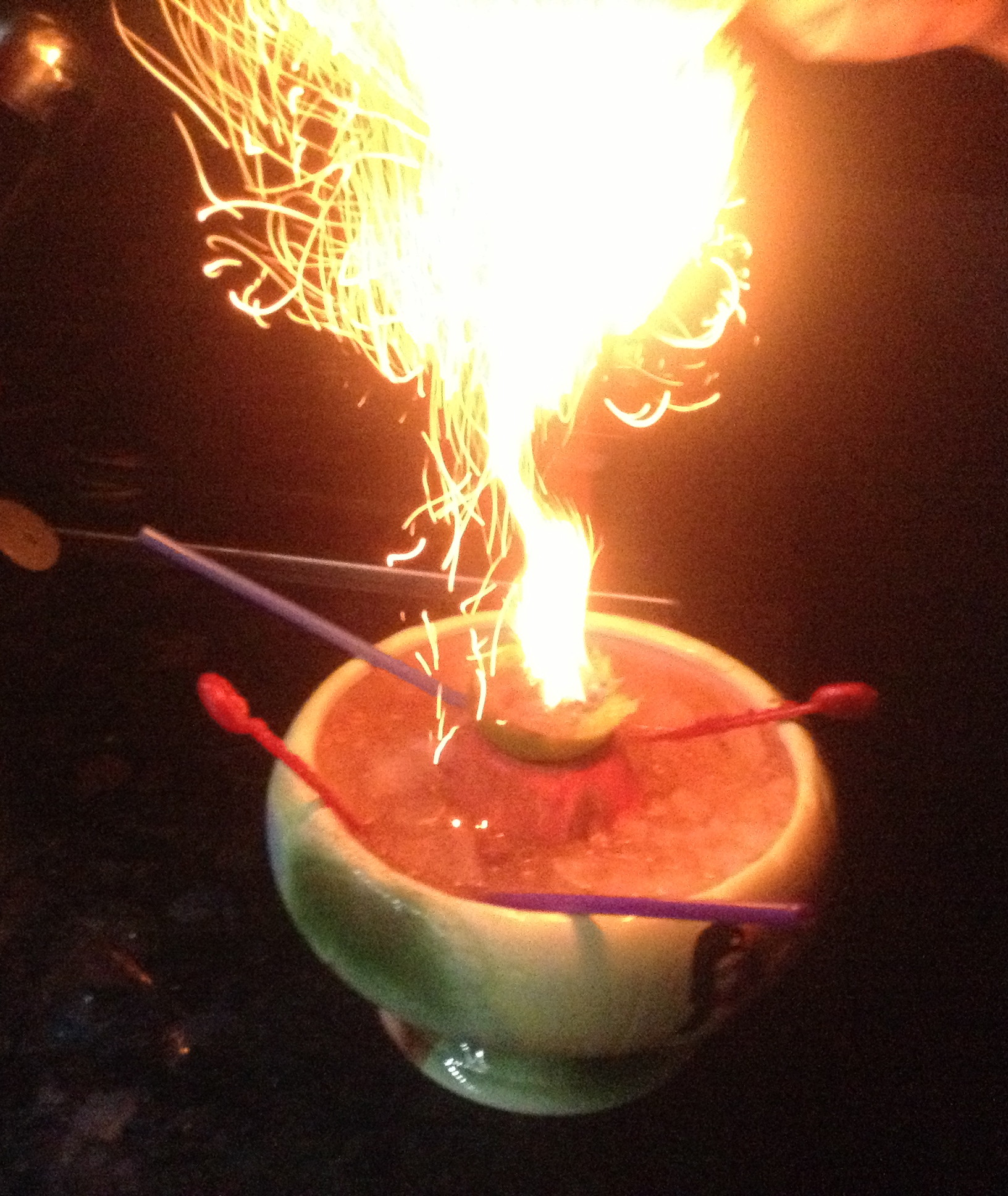 donga punch in the volcano bowl