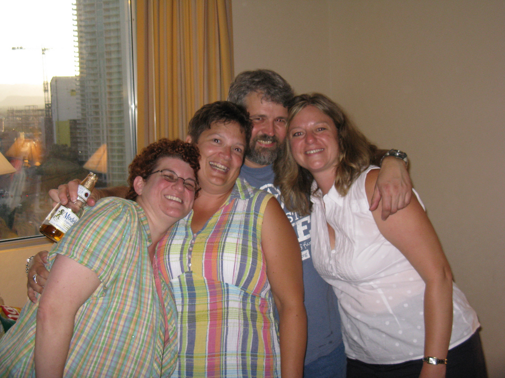 Nanette, Julie, Frank, and Chrystal